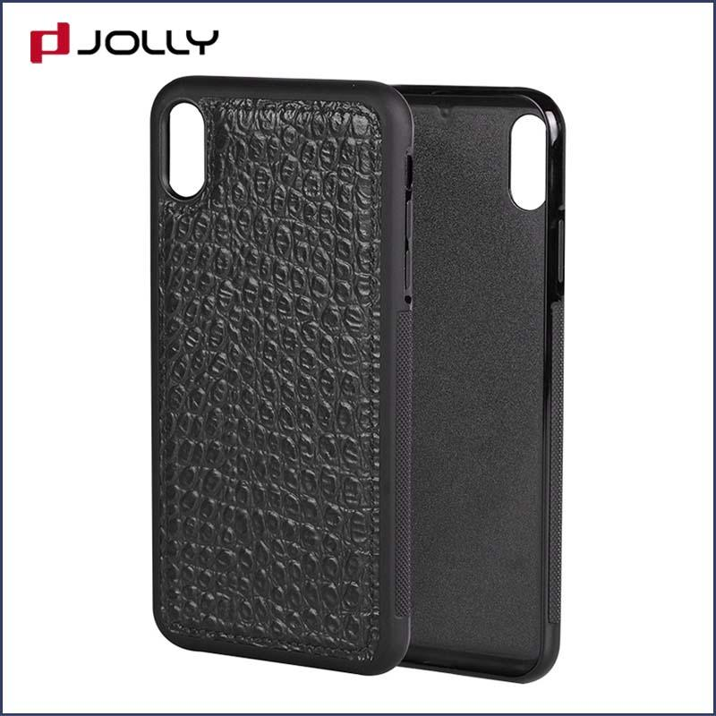 iPhone Xs Max Back Cover, Tpu Non-Slip Grip Armor Protection Case DJS0912-2