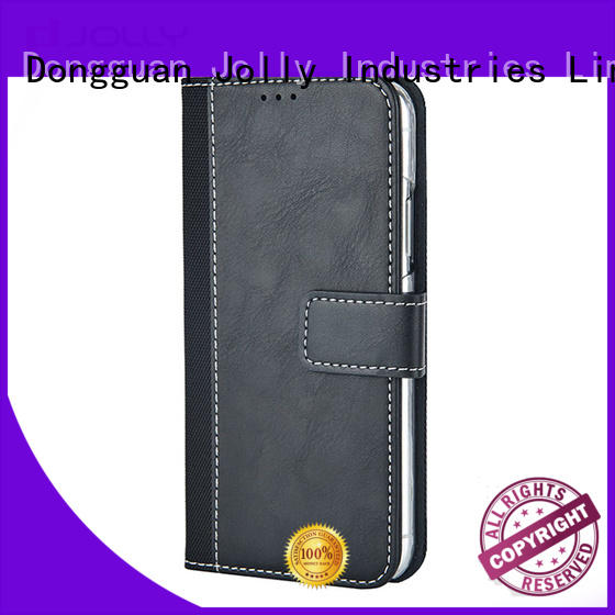 Jolly book cell phone wallet case for busniess for sale