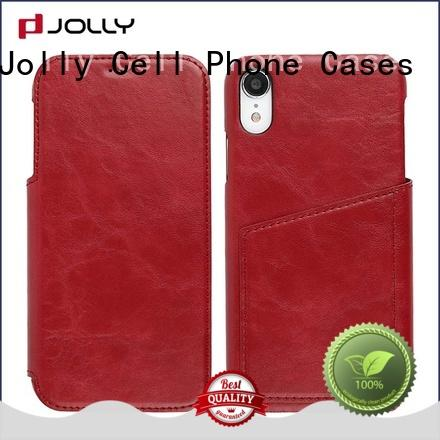 Jolly wholesale cell phone protective covers with strong magnetic closure for iphone xs