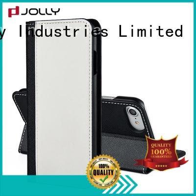 Jolly Brand slot card holder custom flip wallet phone case