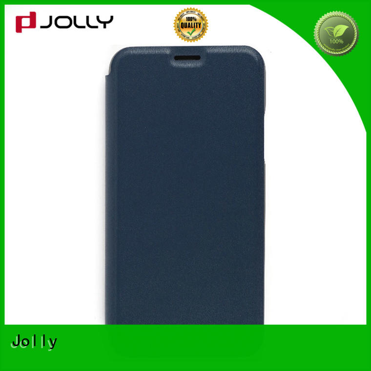 flip cell phone case with id and credit pockets for iphone xs Jolly