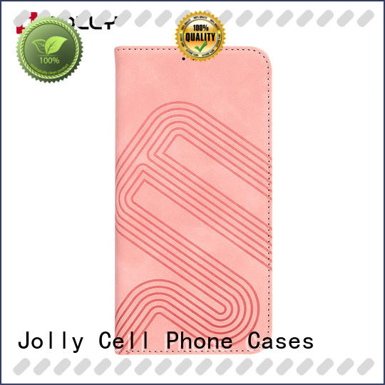 Jolly phone designer cell phone cases pockets supplier