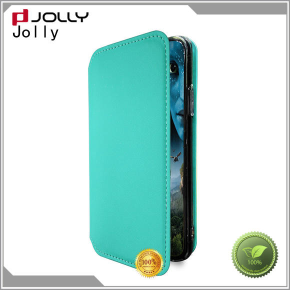 Jolly folio phone cases online with slot kickstand for mobile phone