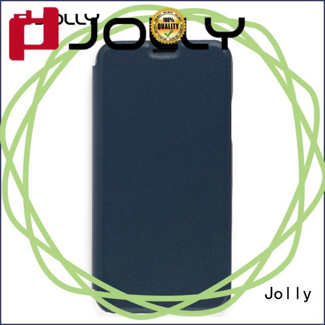 Jolly leather case flip case manufacturer
