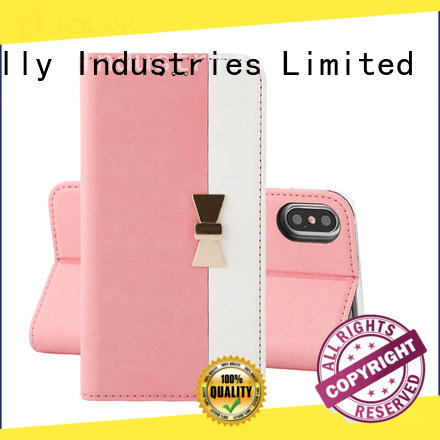 Jolly anti-radiation case with id and credit pockets for mobile phone