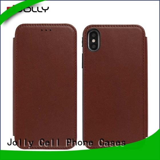 Jolly wholesale phone cases with slot for sale