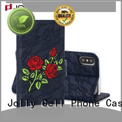 Jolly travel mens cell phone wallet card maker