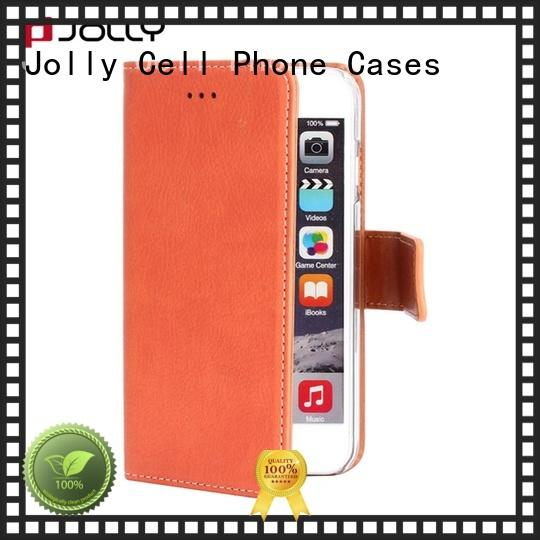 book smartphone wallet case with cash compartment for mobile phone