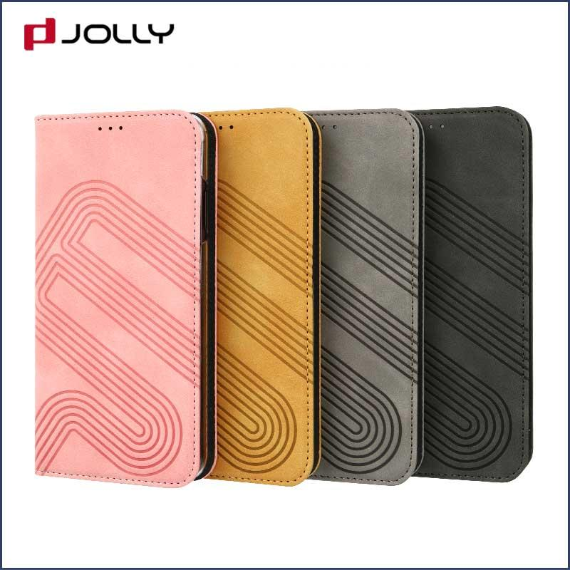 best magnetic flip phone case with slot for mobile phone-1
