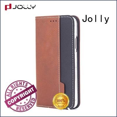 slim leather flip iphone cover with slot kickstand for sale