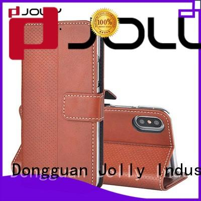 wallet type cell phone cases for mobile phone Jolly
