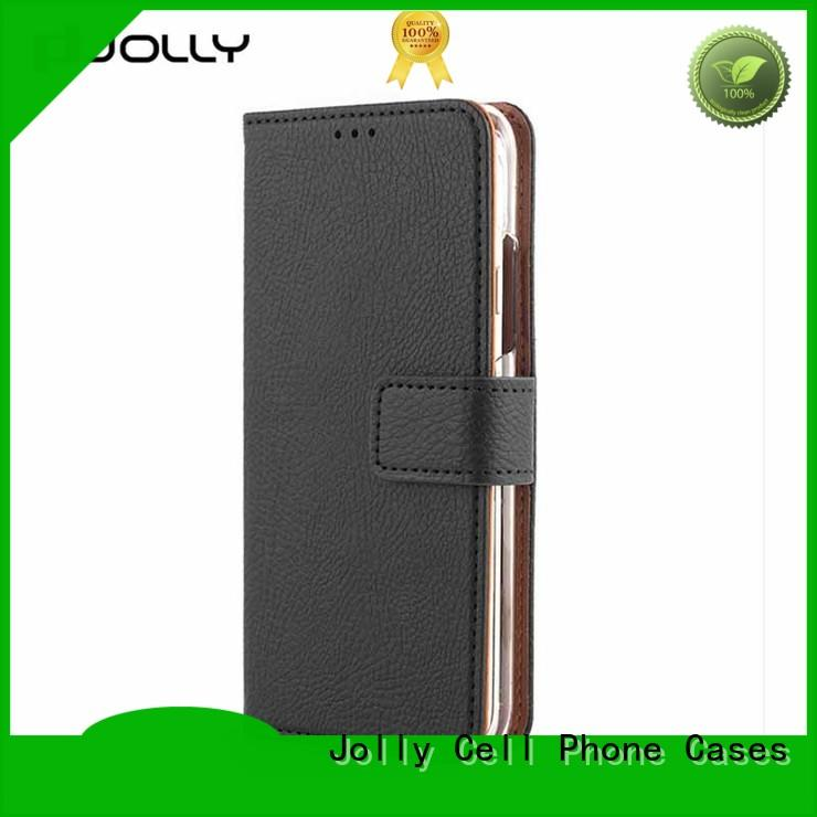 Jolly djs cell phone wallet combination with id and credit pockets for sale