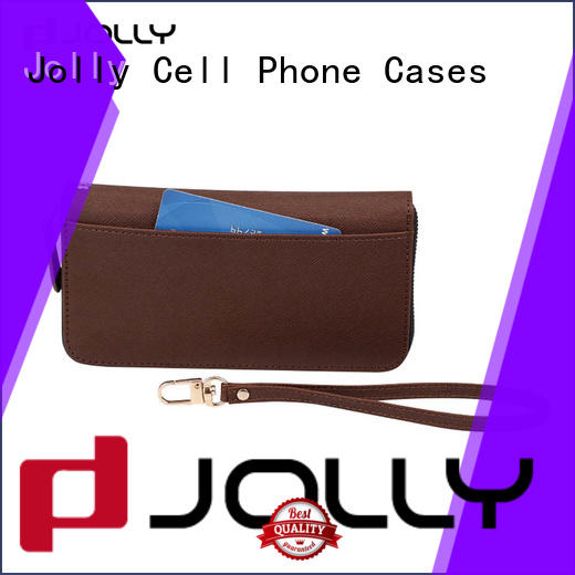 Jolly women wallet case with printed pattern cover for sale