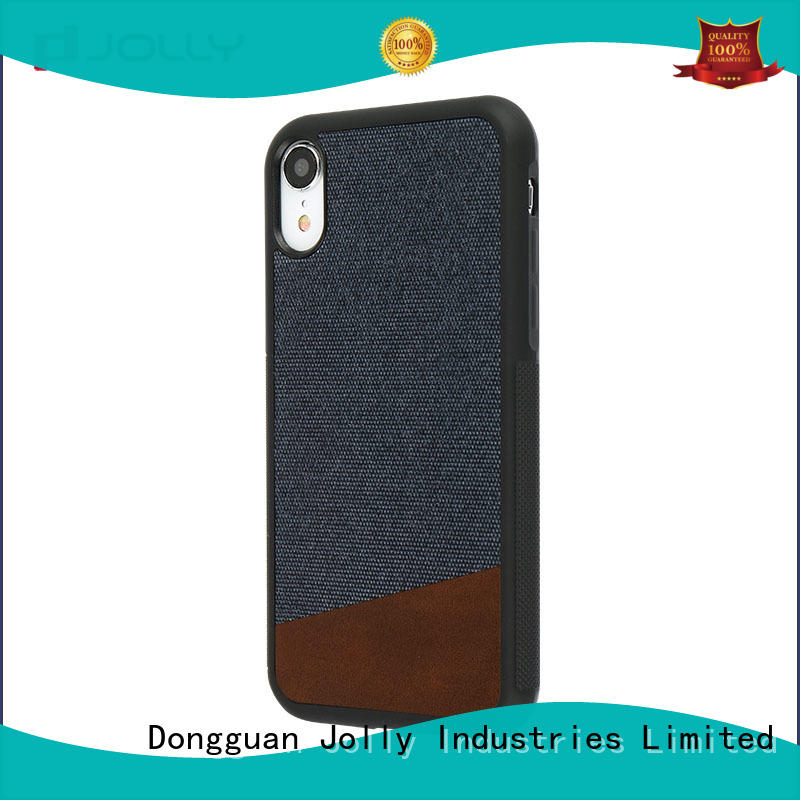 Jolly natural stylish mobile back covers factory for iphone xr