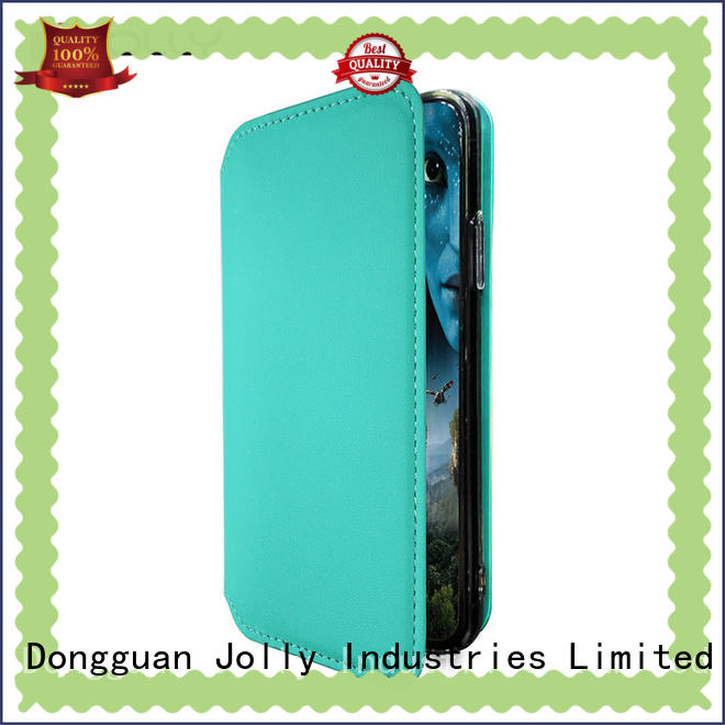 Jolly cell phone protective covers with slot kickstand for sale