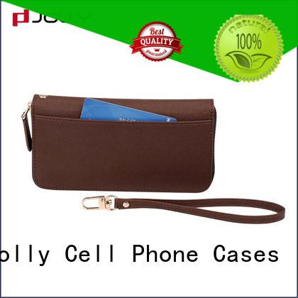 card iphone zipper wallet case credit Jolly