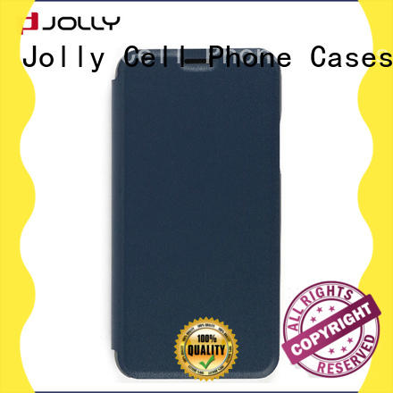 slim leather designer cell phone cases with strong magnetic closure for iphone xs