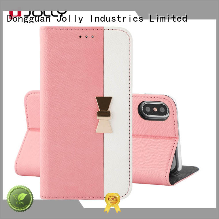 pu leather anti radiation phone case with slot for iphone xs