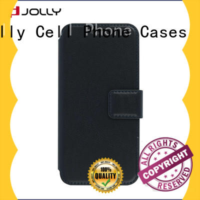 Jolly initial personalised leather phone case factory for iphone xs
