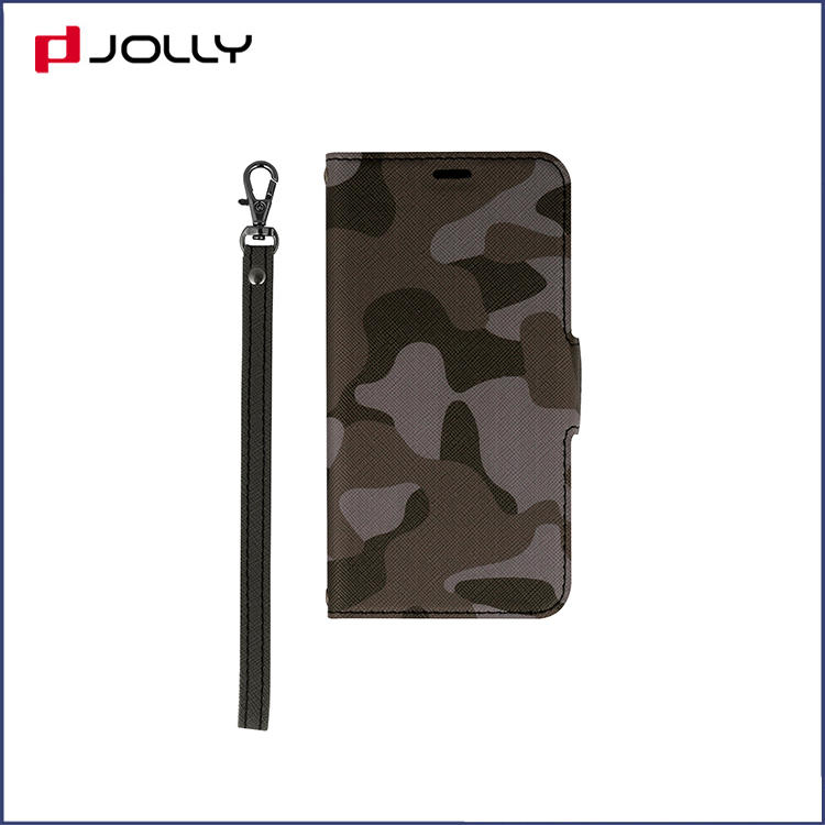 Jolly magnetic flip phone case with slot kickstand for iphone xs-3