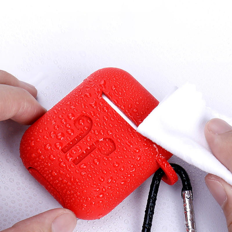 Anti Drop Skin Silicone Earphone Protective Case Cover For Apple Airpod 1/2 Earphone DJS1301