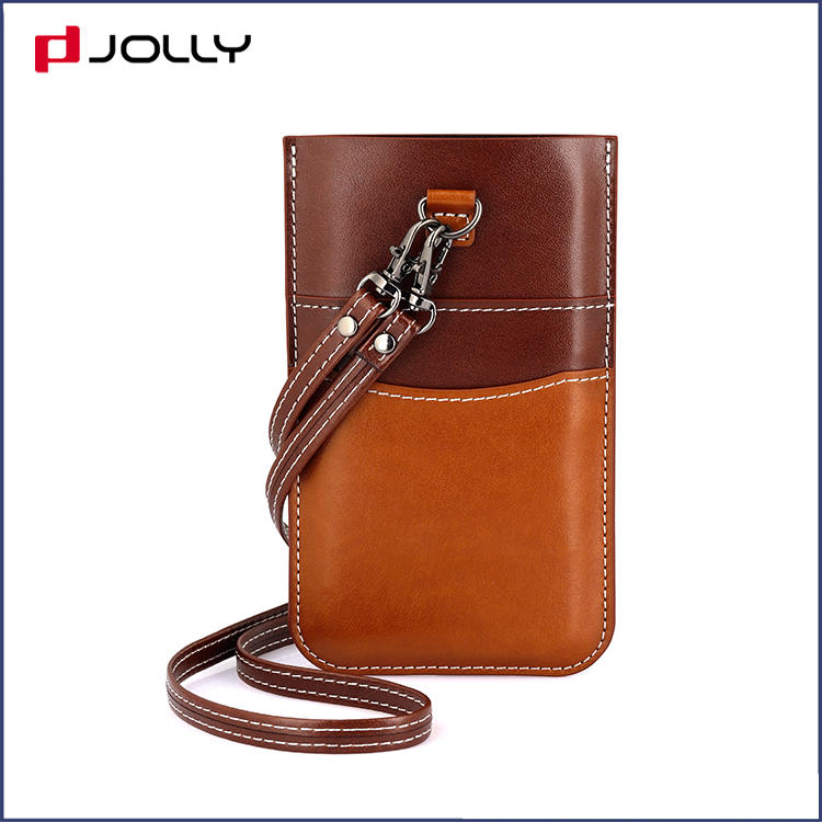iPhone 11 Pro Max Mobile Phone Bag, Univeral Leather Phone Pounch DJS1654
