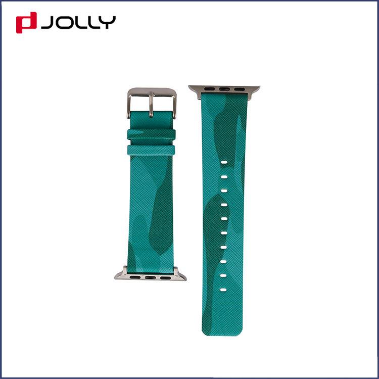 Anti-scratch Camo Element Saffiano Leather Iwatchband DJS1414-88A