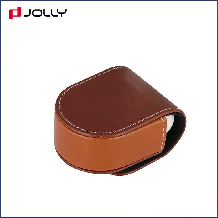 Anti-Drop PU Leather Custom Earphone Pouch for Apple Airpods DJS1656