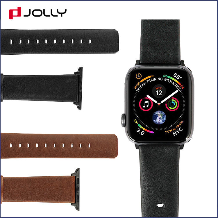 Premium Leather Apple Iwatchband, Classic Leather Straps for Wristwatches DJS1414-E9