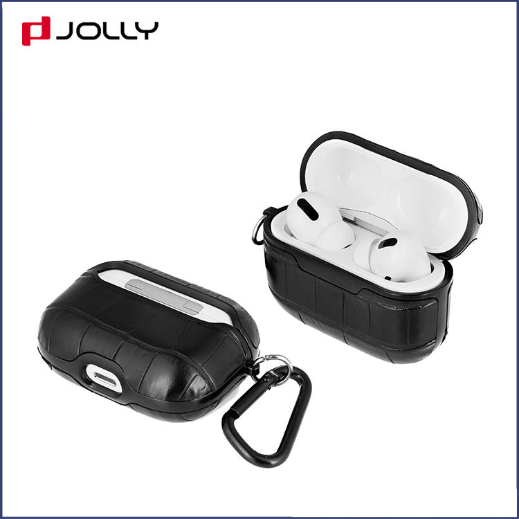 Custom Design Croco PU Leather Case Cover Wholesale with Charging for Airpods Pro DJS1627