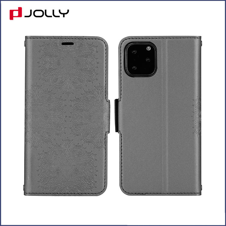 Apple iPhone 11 Pro Flip Leather Phone Case, Fashionable Feeling Element Leather Wallet Case with Card Slot DJS1679