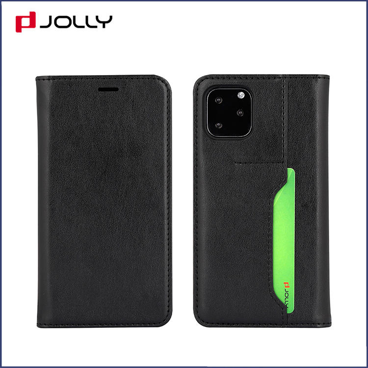 Classic Design recycled Leather Case for Apple iPhone13 Flip Phone Case with Back-side Card Slot