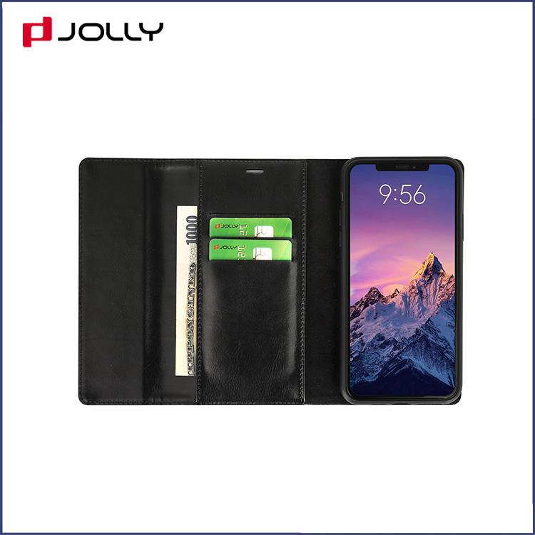 Detachable Croco Leather Phone Case for iPhone 11 Pro Max, Crossbody Design Mobile Phone Clutch DJS1629