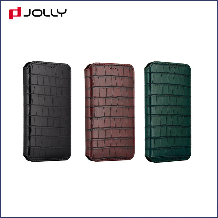 Best iPhone X Case, Leather Wallet Phone Case With Cash Compartment DJS0734