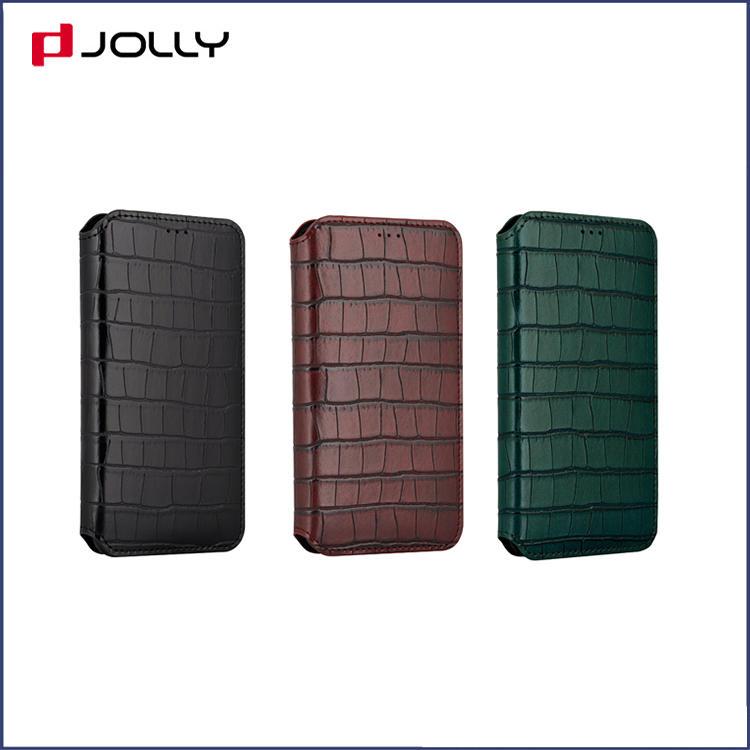 Anti-Shock Apple iPhone 11 Pro Flip Leather Phone Case,Unique Croco Element Leather Wallet Case DJS1625