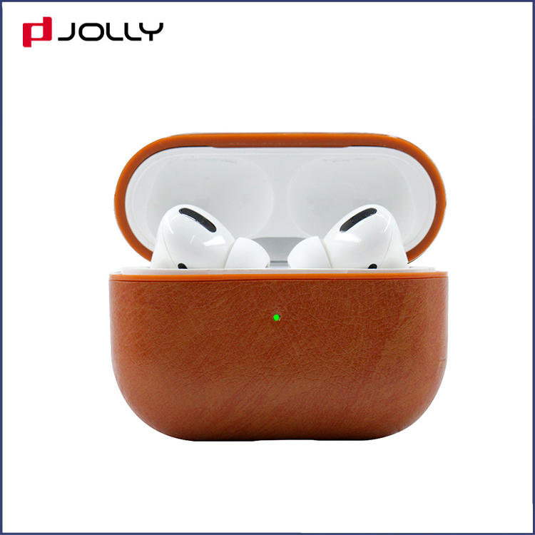 Custom PU Leather Protective Case Cover with Charging for Airpods Pro RJT-P0008