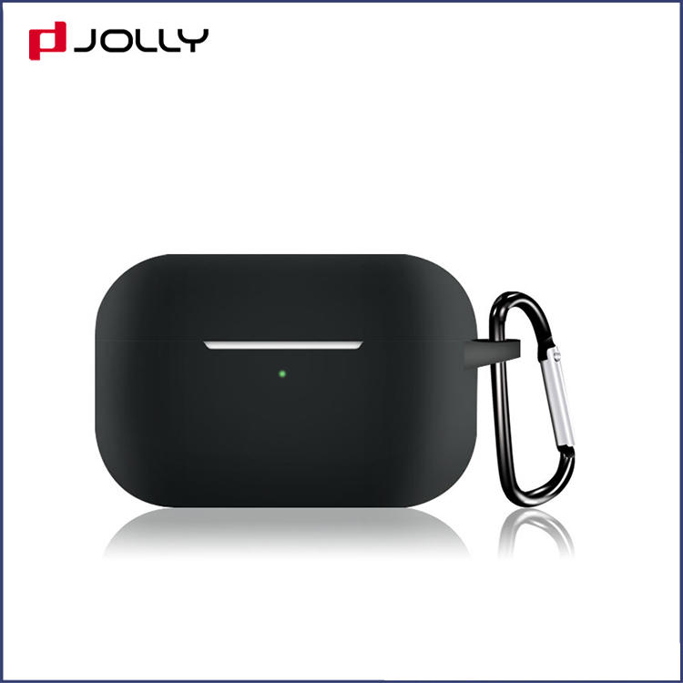 Wireless Charging Ultrathin Skin Silicone Custom Earphone Case Cover For Apple Airpods Pro RJT-P0005