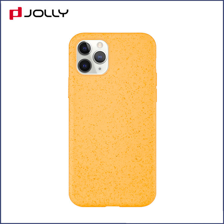 Antibacterial Eco-friendly Material Wheatstraw Mobile Phone Case for iPhone with Biodegradable Function