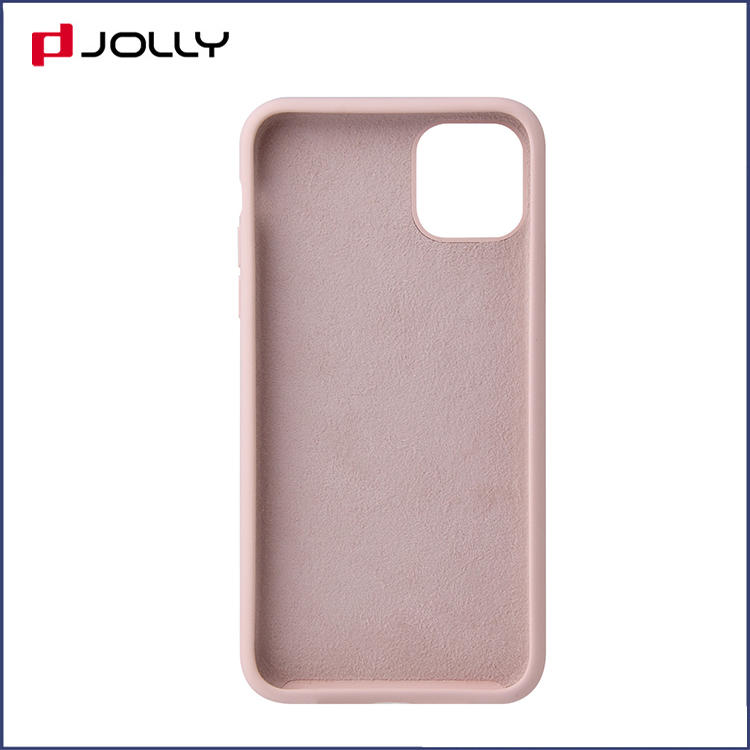 Silky Soft Touch Feeling Real Liquid Silicone Mobile Phone Cver with 4 Sides Wrap 2.55mm Thick for iPhone