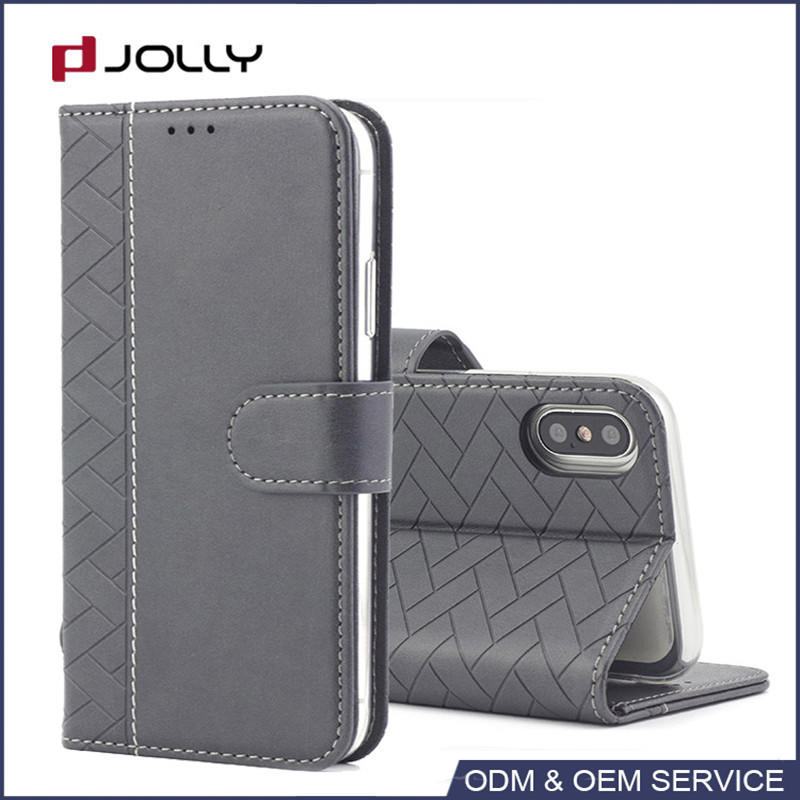 Hot sale classic sustainable leather phone case with card slot