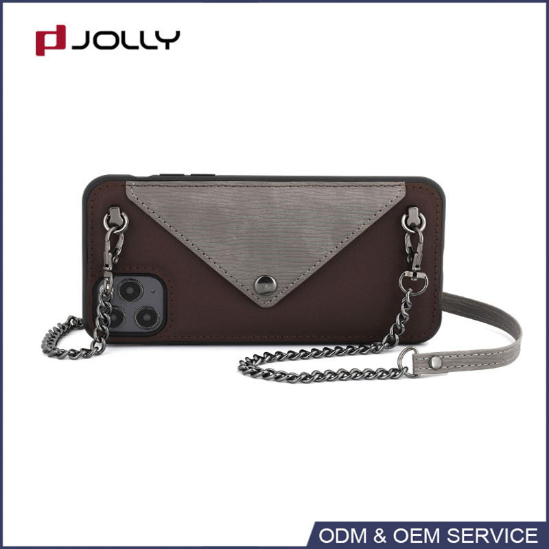 Crossbody phone case with high quality materials