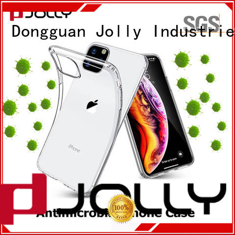 Jolly custom phone case maker with id and credit pockets for apple