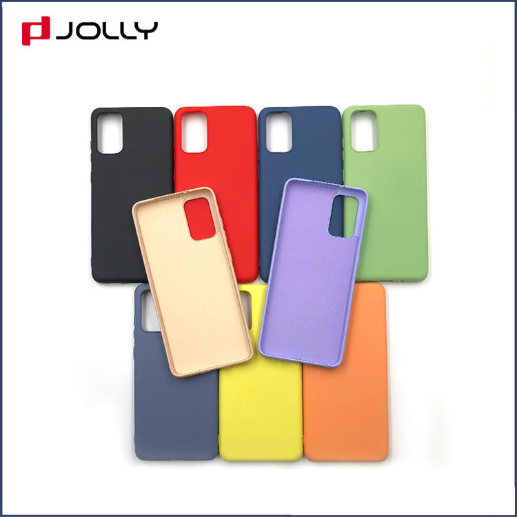Jolly slim spliced two leather phone back cover company for sale-3