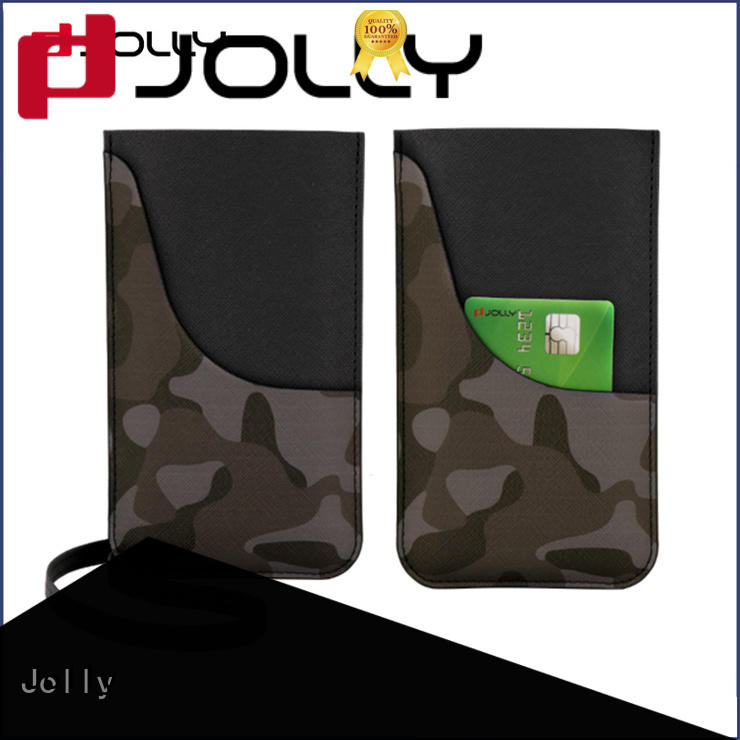 Jolly custom phone pouch bag manufacturers for phone