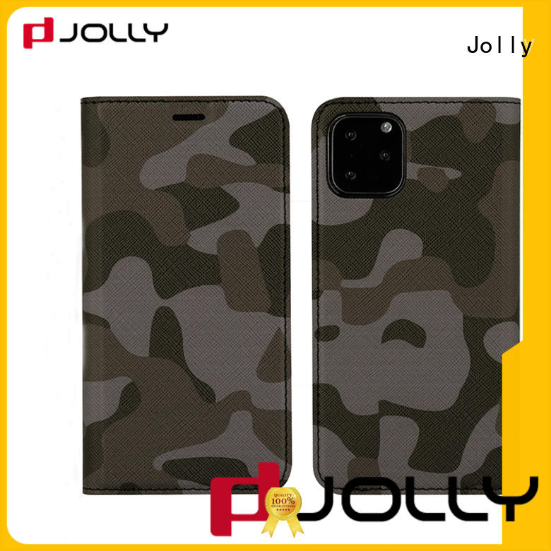 Jolly flip cell phone case factory for mobile phone