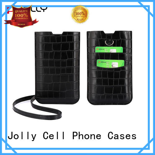 Jolly colored mobile phone bags pouches suppliers for phone