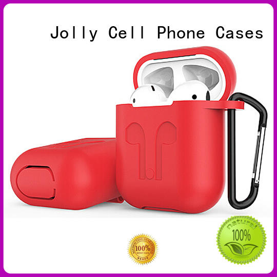 drop proof Airpods Case with button hole hollow for apple airpods