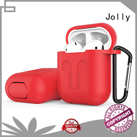 Jolly djs Airpods Case with button hole hollow for apple airpods