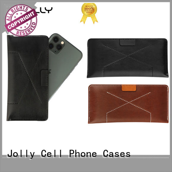 Jolly flip protective phone cases with card slot for sale